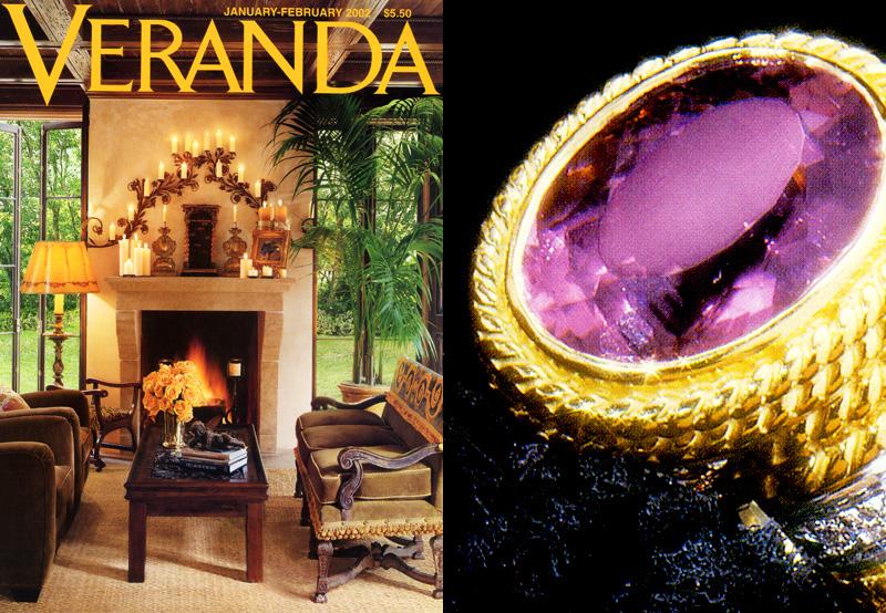 Veranda - February 2002 Veranda Magazine