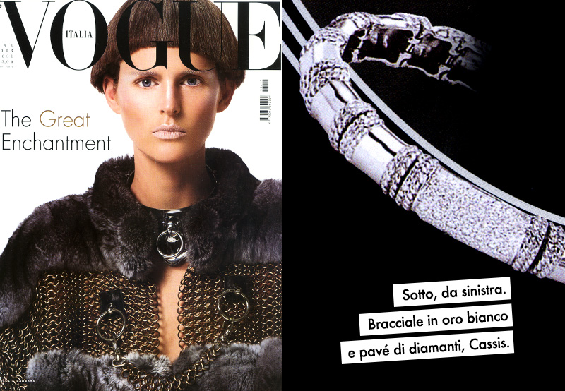 Vogue Italia - March 2003 Vogue Italia Magazine