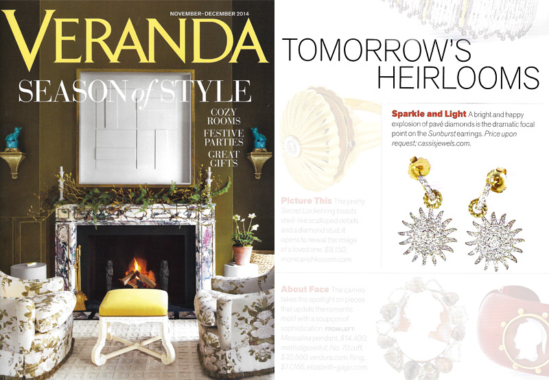 Veranda Magazine - Holiday Gift Guide - November/December 2014