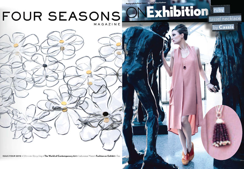 On Exhibition - ISSUE 4 2012 Four Seasons Magazine