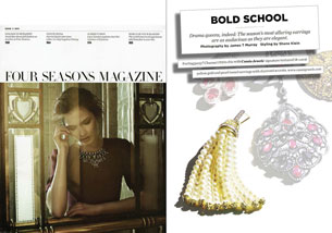 Bold School - ISSUE 3 2013 Four Seasons Magazine