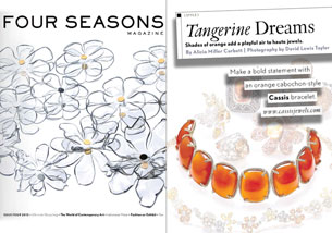 Tangerine Dreams - ISSUE 4 Four Seasons Magazine 2012