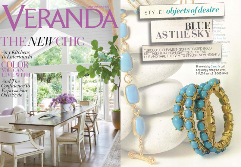 Objects of Desire - July/August 2013 Veranda Magazine