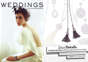 Deco Details - 2012 Four Seasons Weddings Debut Issue (April)