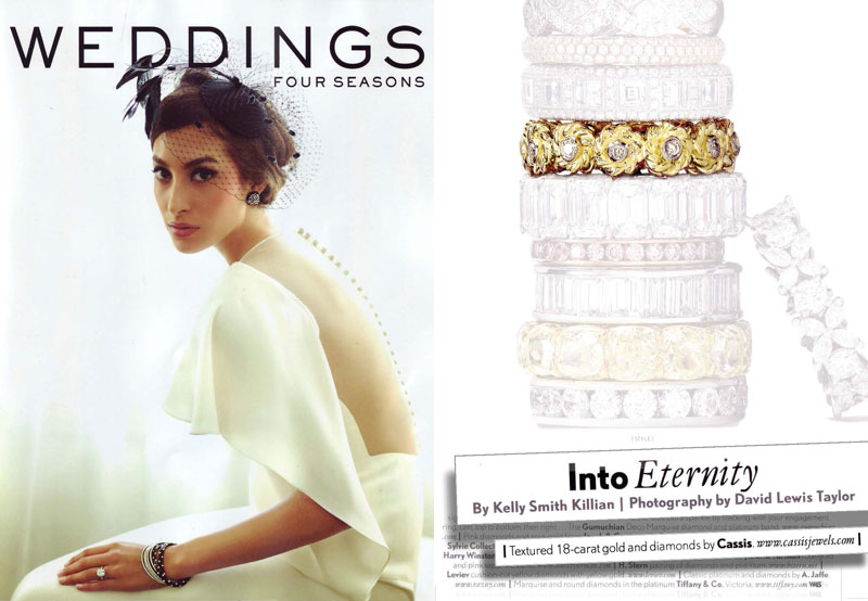 Into Eternity - 2012 Four Seasons Weddings Debut Issue (April)